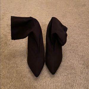 Forever 21 sock heel